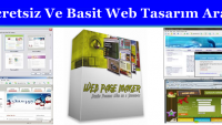 Ücretsiz Ve Basit Web Tasarım Aracı