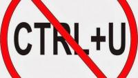 Blogger CTRL+U Engelleme