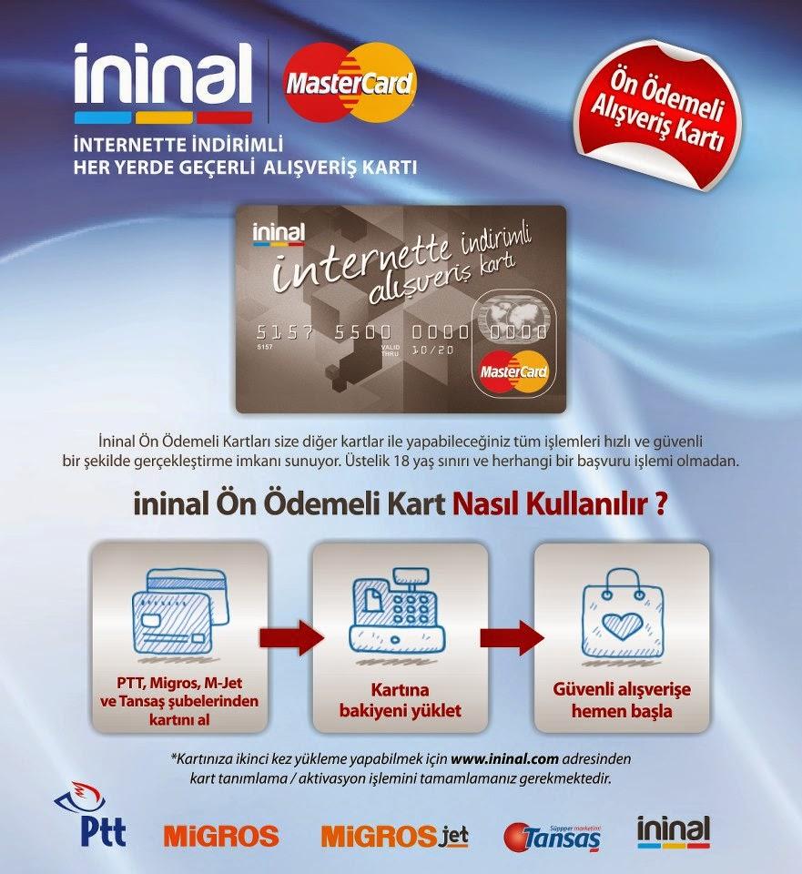 ininal logo - İninal Kart Nedir İninal Kart Nasıl Kullanılır