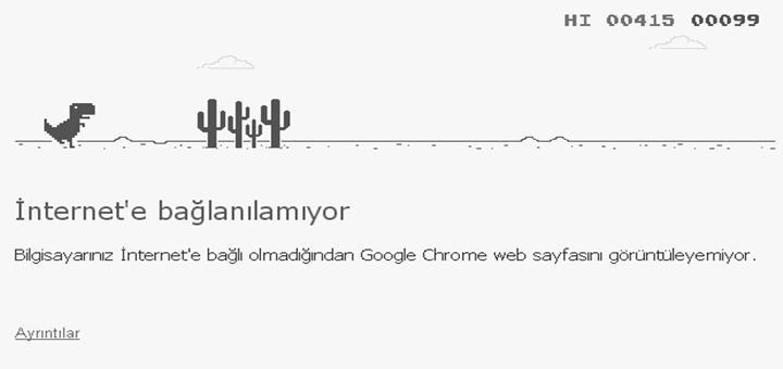 Google Chrome Dinazorunun Sırrı