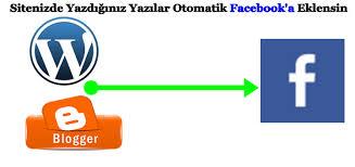 yazdığın yazılar facebook a eklensin,otomatik yazılar facebook a eklensin,rss grefitti otomatik paylaşma