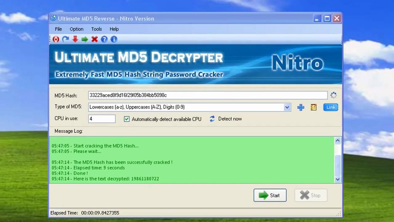 Md5 Şifre Kırmak