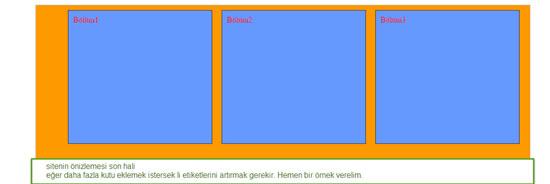 Css display:inline-block kullanımı ve örneği, Yatay menü, Bilgisayar, display:inline