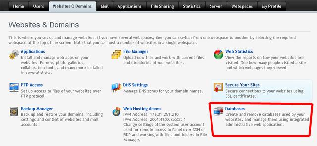 WordPress domain değiştirme, cpanel den pleks panele geçme, domain değiştirme, phpmyadmin, wordpress, yedek, yedek alma, yeni hosta taşımak, yükleme